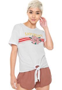 Camiseta Fiveblu Nó Branca
