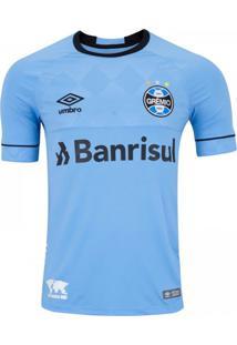 Camisa Umbro Grêmio Oficial Fan Charrua 2018 Azul