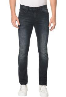 Calça Jeans Five Pocktes Slim Ckj 026 Slim - Marinho - 38