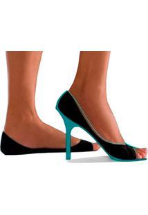 Meia Sapatilha Peep Toe Invisível Onfit Mini (G26) Não Aparece!!!