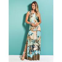 9069b3a9a30b Posthaus. Vestido Longo Mix Floral Quintess