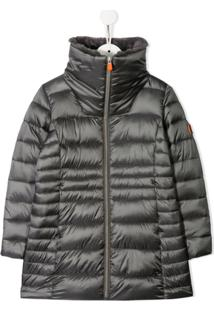 Save The Duck Kids Padded Coat - Cinza
