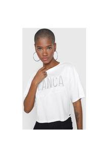 Camiseta Lança Perfume Aplicação Branca