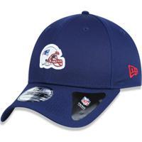 Boné 940 New England Patriots Nfl Aba Curva Snapback New Era - Masculino dd19c45c87b