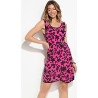 d9aa570689 Quintess. Vestido Quintess (Floral Pink) ...