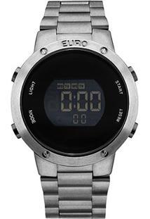 Relógio Euro Digital Grafite Eubj3279Ae/4K Feminino - Feminino-Grafite