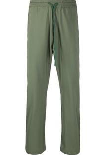 Barena Drawstring Loose Fit Trousers - Verde