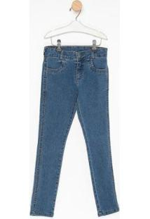 Calça Jeans Infantil Express Donald Masculina - Masculino-Azul