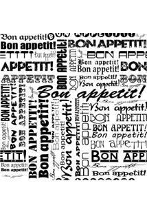 Papel De Parede Adesivo Bon Appetit (2,50M X 0,58M)