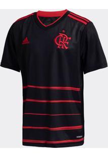 Camisa Adidas Flamengo 2020 Iii Preta Infantil
