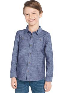 Camisa Trick Nick Azul