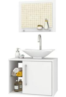 Conjunto Para Banheiro Baden Branco