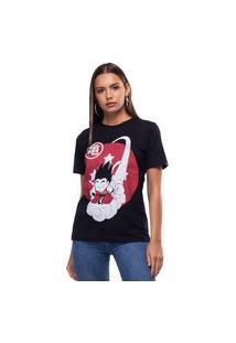 Camiseta Liverpool Estonada Dragon Ball Preto Tam. P