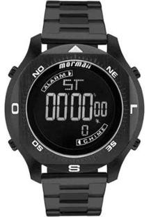 Relógio Masculino Mormaii Pro Digital Mo11273B/4P - Unissex-Preto