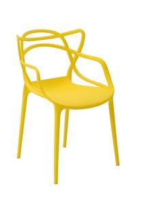Cadeira Allegra Amarela Rivatti