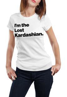 Camiseta Hunter I'M The Lost Kardashian Branca