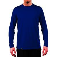 d961c39393 Camiseta Proteção Solar Uv50 - Slim Fitness - Azul