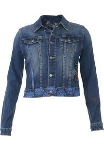 Jaqueta Jeans Desigual Sara Azul - Kanui
