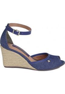 Sandália 144806Ki Azul