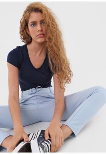 Camiseta Malwee Lisa Azul-Marinho - Kanui