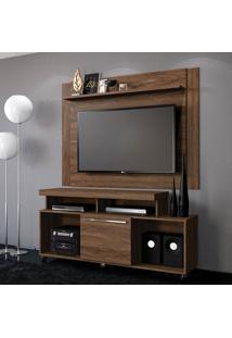 Rack Com Painel Para Tv Até 55 Polegadas Quebec Malte 180 Cm