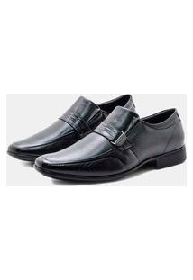 Sapato Social Pipper Couro Preto