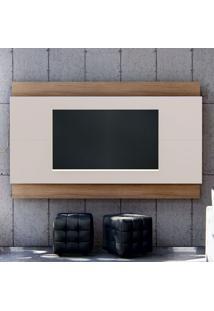 Painel Para Tv Até 65 Polegadas Expand Ii Off White E Noce