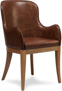 Cadeira Mast Com Braço Estrutura Madeira Pés Em Jequitibá Eco Friendly Design Scaburi