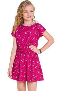 Vestido Infantil Kyly Meia Malha 110039.40064.6