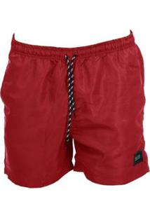Bermuda Long Island Basic Vermelha - Masculino-Vermelho