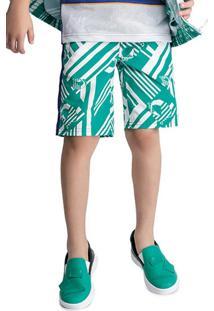 Bermuda Verde Menino