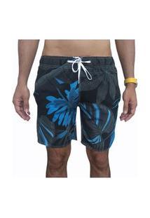 Bermuda Short Tactel E Elastano Moda Pra