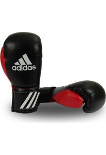 96e161425 Luva De Boxe Adidas Response Preto Vermelho
