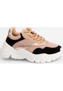 Tênis Feminino Sneaker Recorte Marisa