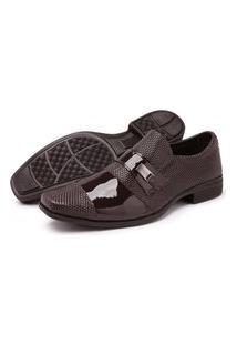 Sapato Masculino Schiareli Social Marrom