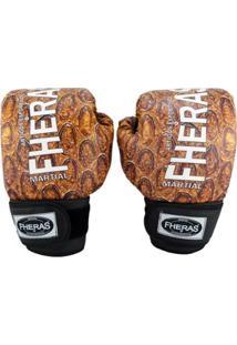 Luva Boxe Muay Thai Fheras New Top Cobra Ll - Unissex
