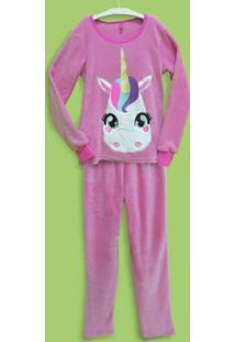 Pijama Soft Unicórnio Adulto