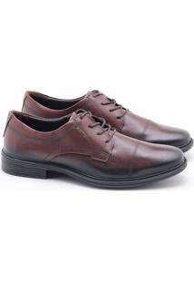 Sapato Social Pegada Jazz Masculino Marrom