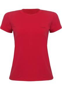 Camiseta Feminina Silver Mc Verm. Vfa202