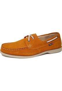 549909074 Dockside Couro Ouro Amarelo masculino | Shoes4you