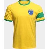 Camiseta Brasil Capitães 1970 Retrô Times Masculina - Masculino a8ae62344d3ea