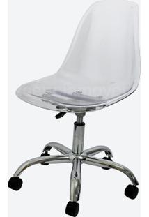 Cadeira Eames Dkr Office (Cores Transparentes)