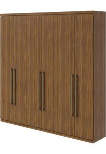 Guarda-Roupa Alonzo New - 100% Mdf - 6 Portas - Rovere Naturale