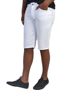 Bermuda Jeans Yck'S Branca - Kanui