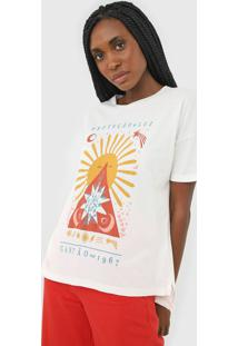 Camiseta Cantão Proteção E Luz Off-White