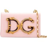 c5d3b2dc4 Dolce & Gabbana Bolsa Tiracolo Dg Girls - Rosa