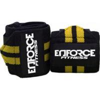 Munhequeira Profissional Crossfit Powerlifting - Enforce Fitness - Unissex a7fd0333ec