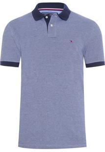Polo Masculina Ec Essential Oxford - Azul d00839afe51d6