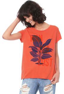 Camiseta Oh Boy Nascente Laranja
