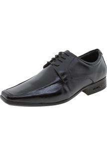 Sapato Masculino Social 3D Executive Jota Pe - 74455 Preto 39